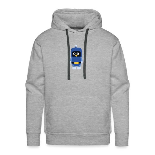 Pingouin Dynablaster - Sweat-shirt à capuche Premium pour hommes