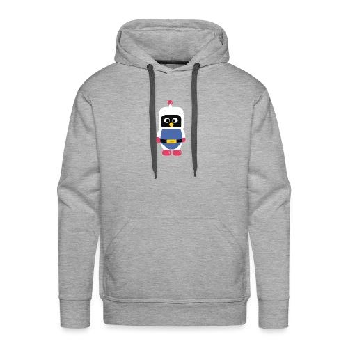 Pingouin Dyna - Sweat-shirt à capuche Premium pour hommes