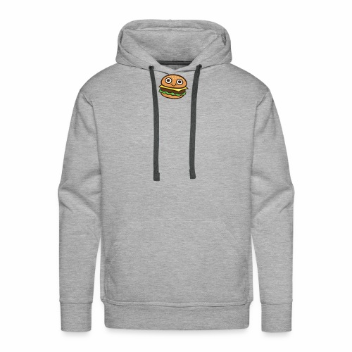 Burger Cartoon - Mannen Premium hoodie