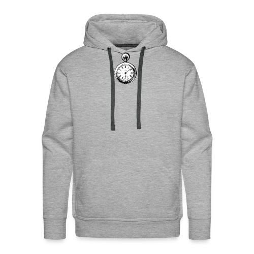 johnny_automatic_pocket_watch - Bluza męska Premium z kapturem