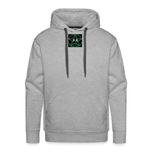 logo P.R - Sweat-shirt à capuche Premium pour hommes