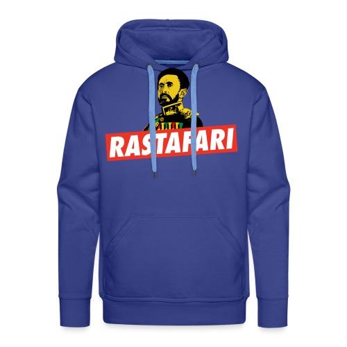 Rastafari - Haile Selassie - HIM - Jah Rastafara - Männer Premium Hoodie