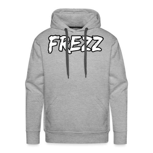 T Shirt FREZZ Noir&Blanc Classique (NOIR) - Sweat-shirt à capuche Premium pour hommes