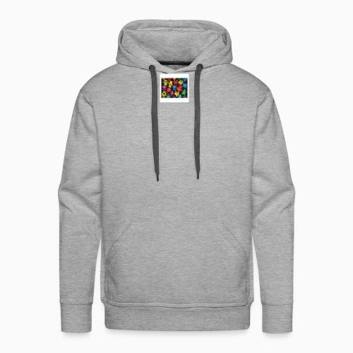 Créatures Folles Colorés - Sweat-shirt à capuche Premium pour hommes