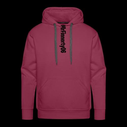 Name Tekst - Sweat-shirt à capuche Premium pour hommes