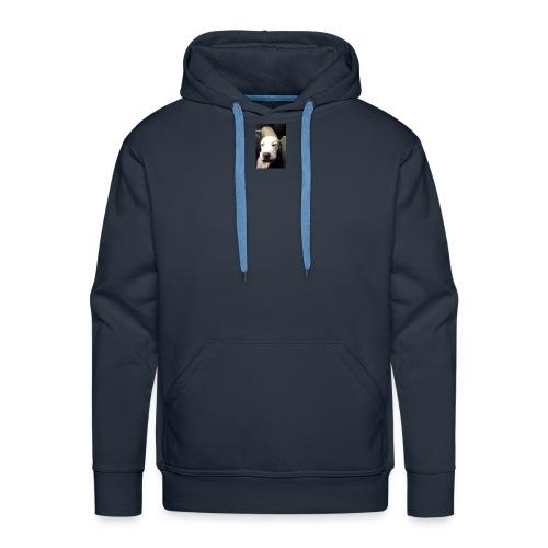 perrito - Sudadera con capucha premium para hombre