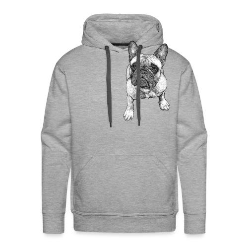 French Bulldog - Sweat-shirt à capuche Premium pour hommes