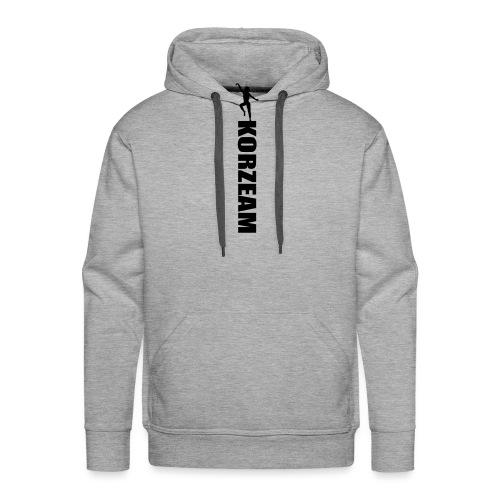 Korzeam unicolore - Sweat-shirt à capuche Premium pour hommes