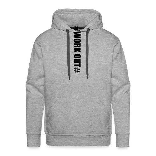 work out - Männer Premium Hoodie