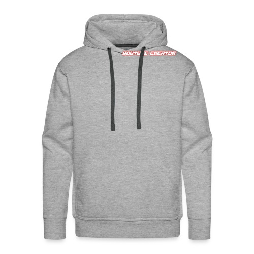 youtube creator - Men's Premium Hoodie