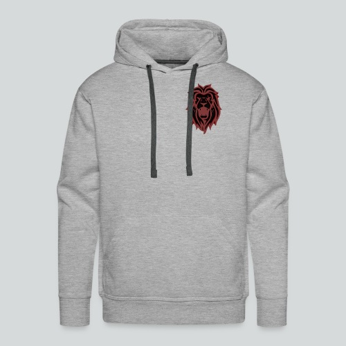 HAHN - RED - Herre Premium hættetrøje