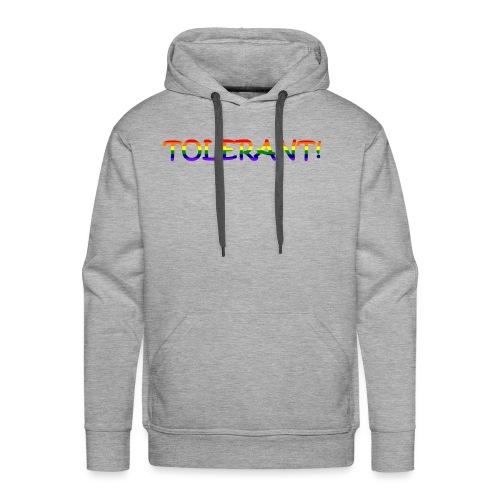 Tolerant Rainbow #1 - Männer Premium Hoodie