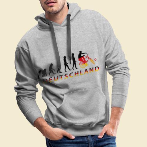 Radball | Evolution Deutschland - Männer Premium Hoodie