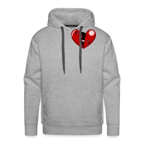 HEART1 - Men's Premium Hoodie