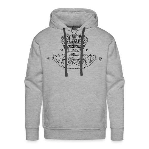 Black & White - Männer Premium Hoodie
