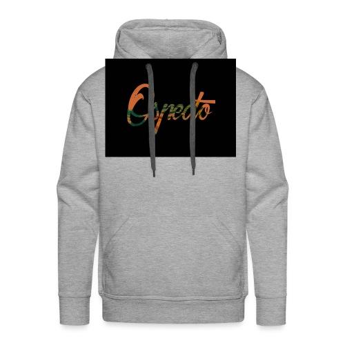 Ospecto logo - Sweat-shirt à capuche Premium pour hommes