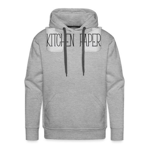 Kitchen Paper - Mannen Premium hoodie