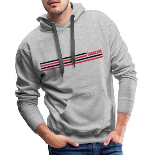 innocent stripes - Männer Premium Hoodie