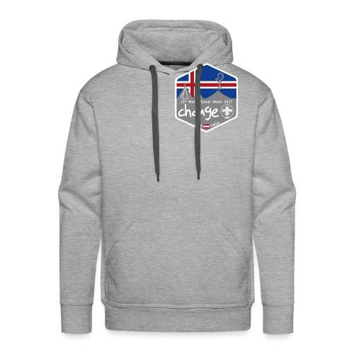 MootIsland Abzeichen - Männer Premium Hoodie