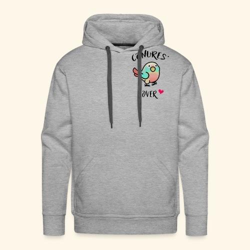Conures' Lover: Toc - Sweat-shirt à capuche Premium pour hommes