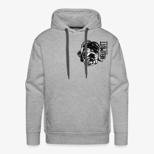 HellMutt LOGO Head - Men's Premium Hoodie