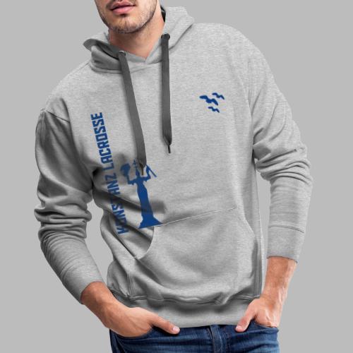 Hoodie blau - Männer Premium Hoodie