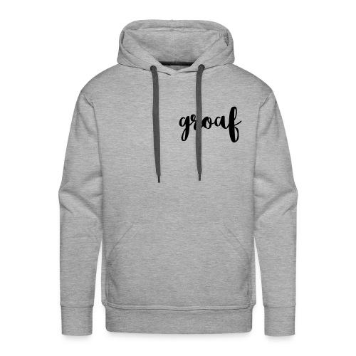 Groaf - Mannen Premium hoodie