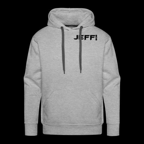 Jeff bob (small logo) - Men's Premium Hoodie