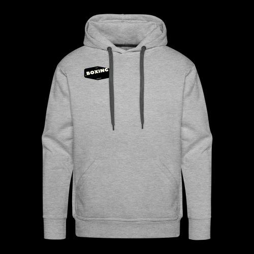 logo de boxeo - Sudadera con capucha premium para hombre