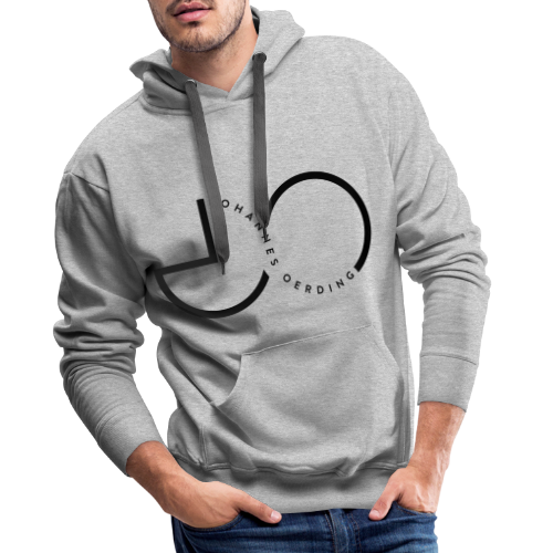 Johannes Oerding Logo - Männer Premium Hoodie