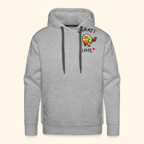 Conures' Lover: Ananas - Sweat-shirt à capuche Premium pour hommes