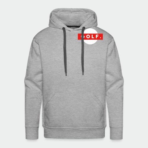 GOLF. - Sweat-shirt à capuche Premium pour hommes