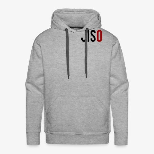 JISO - Sweat-shirt à capuche Premium pour hommes