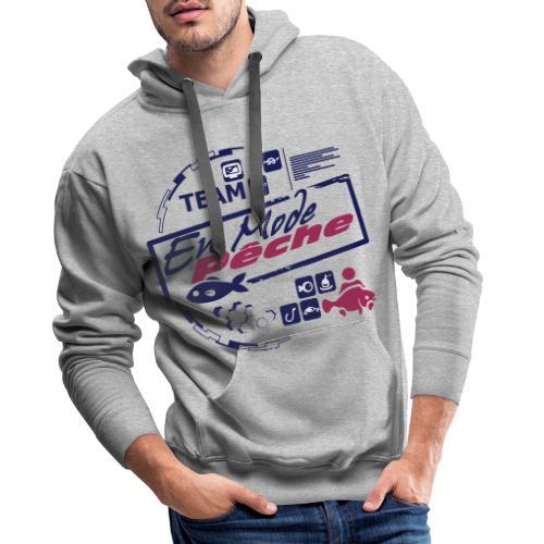 ENMODEPECHE - Sweat-shirt à capuche Premium pour hommes