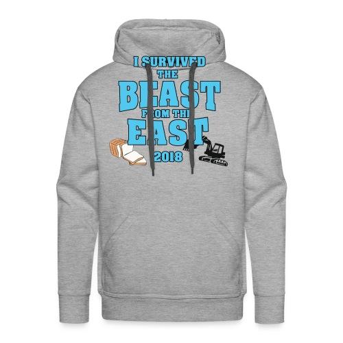 Beast from the East Survivor - Men's Premium Hoodie