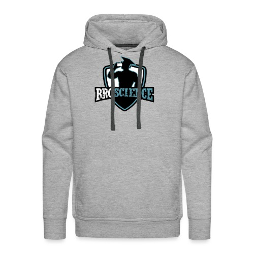 Broscience Logo - Männer Premium Hoodie