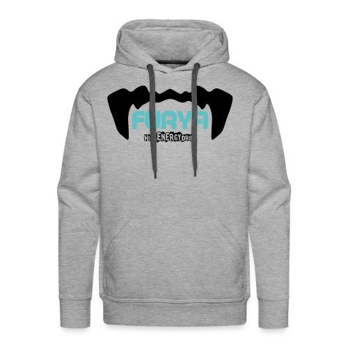 Logo Furya NOIR - Sweat-shirt à capuche Premium pour hommes