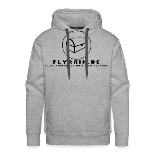 flyrain shirt schwarz - Männer Premium Hoodie