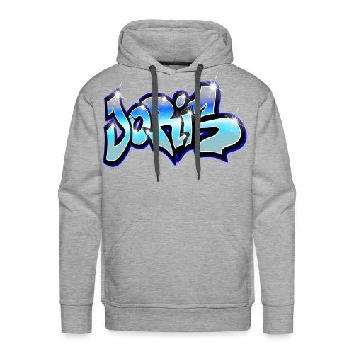 Joris GRAFFITI TAG PRINTABLE BY MAX LE TAGUE - Sweat-shirt à capuche Premium pour hommes