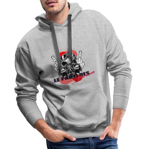 Le Parti Des Pas de Parti - Sweat-shirt à capuche Premium pour hommes