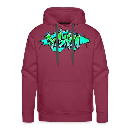 GRAFFITI JOSHUA PRINTABLE WALL BROKE - Sweat-shirt à capuche Premium pour hommes