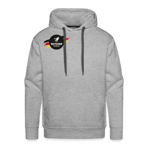 BUTCHER WOLFPACK Logo - Männer Premium Hoodie