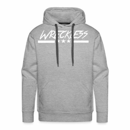 Wreckless crew - Premium hettegenser for menn