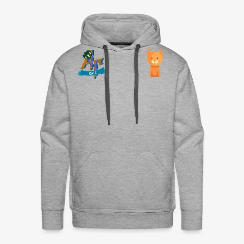 Catz - Sweat-shirt à capuche Premium pour hommes