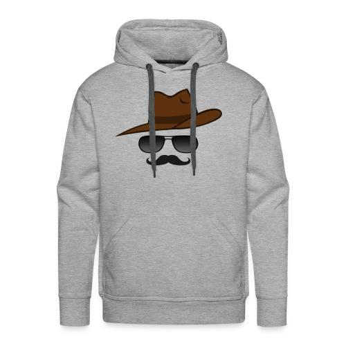 Cowboy western mann men - Männer Premium Hoodie