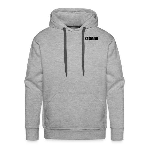 Ketoenk 2.2 Zwart - Sweat-shirt à capuche Premium pour hommes
