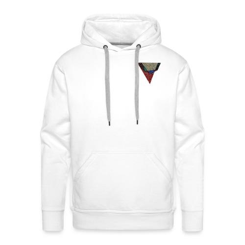Flip Side Graphite Logo - Men's Premium Hoodie