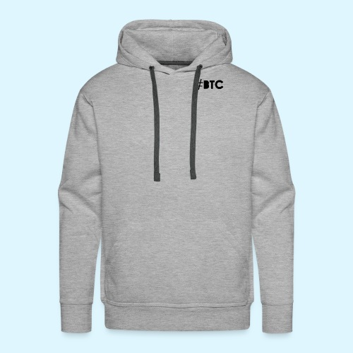 Hashtag BTC - Men's Premium Hoodie