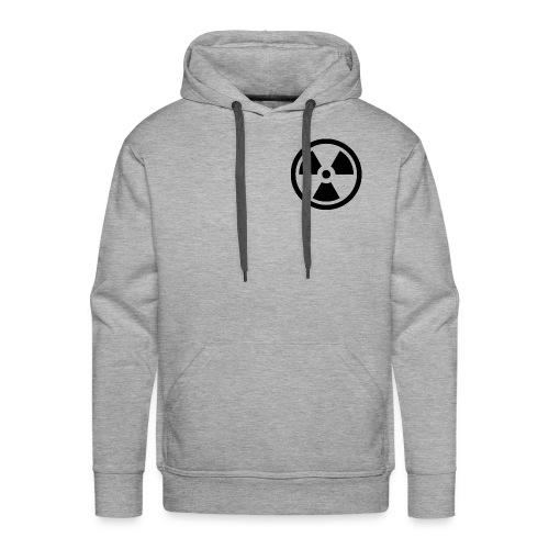 military bomb nuclear danger bomb radioactive - Men's Premium Hoodie