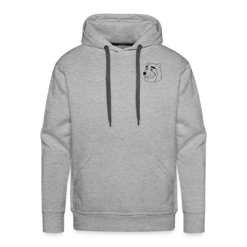Ours - Sweat-shirt à capuche Premium pour hommes